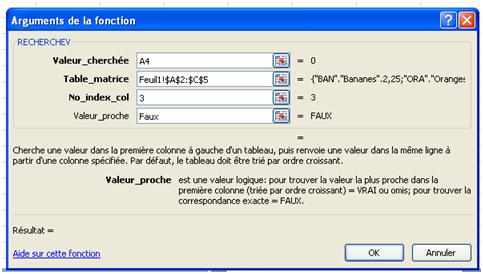 Utiliser La Fonction Recherchev Dans Excel Proformia Services